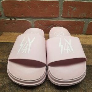 Civil Slay Mauve Slide Sandals size women 5